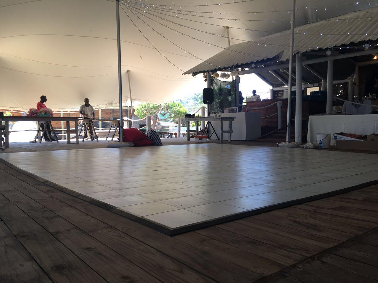 Strandkombuis Wedding | Dance Floor Hire