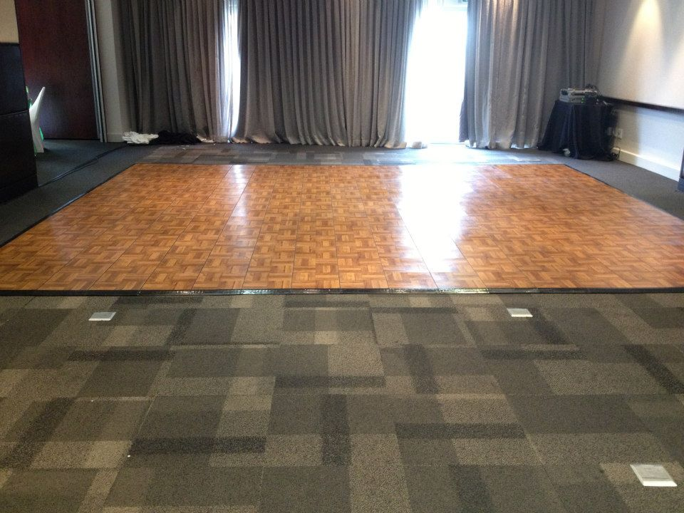 Dark Oak Dance Floor | Dance Floor Hire