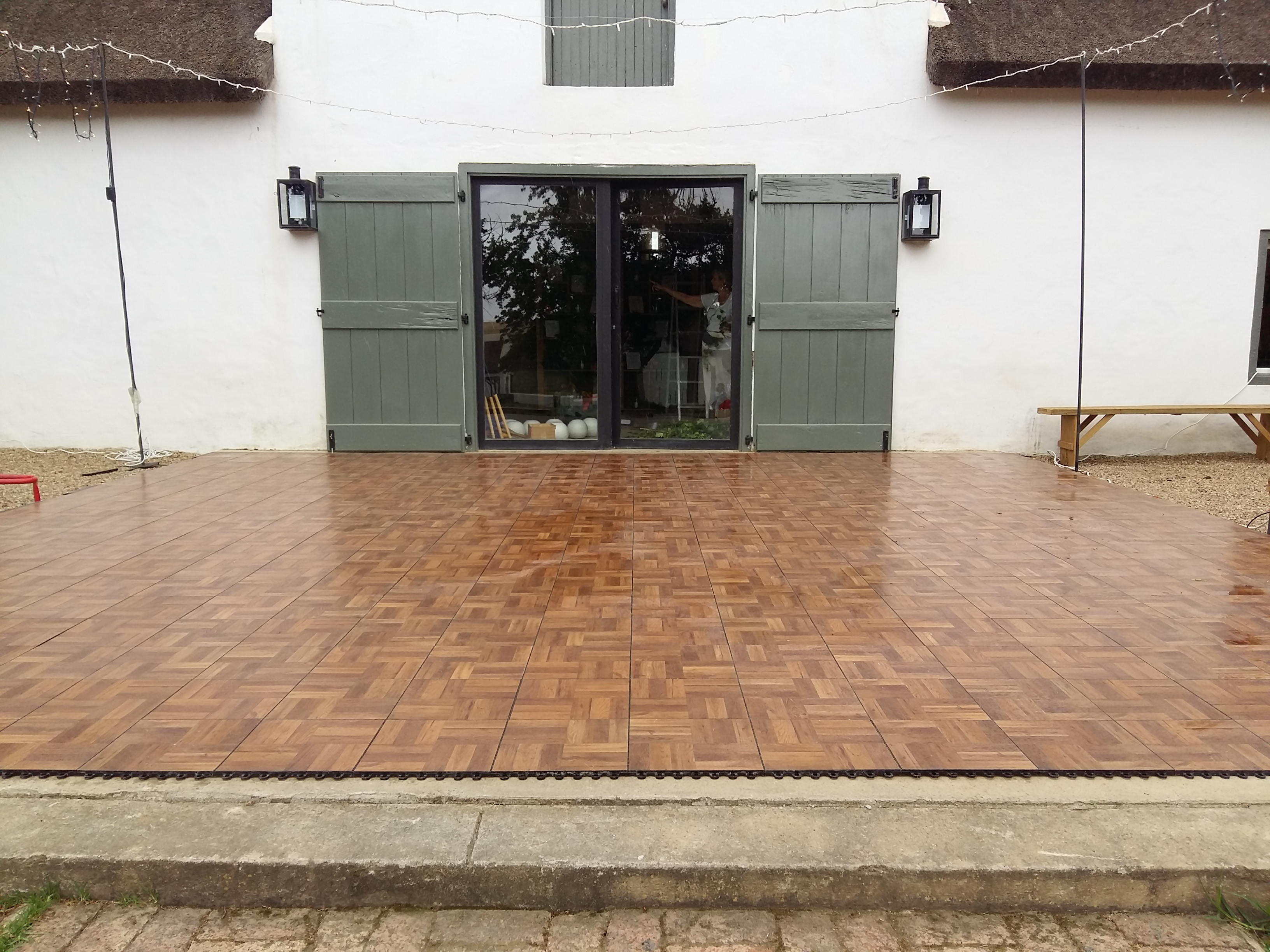 Dark Oak Wooden Dance Floor